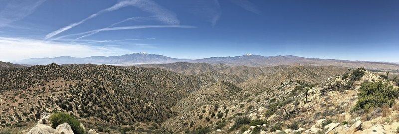Warren Peak, looking south.