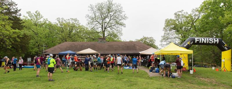 Trail of Four Winds 25K, May 4, 2019, Start/Finish Line