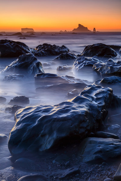 Evening Tide Retreat