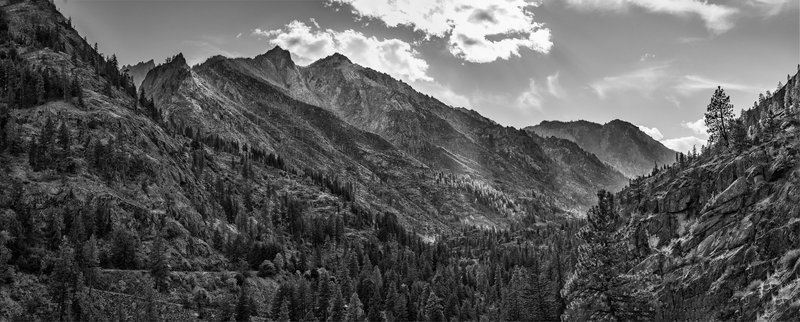 Icicle Creek Valley