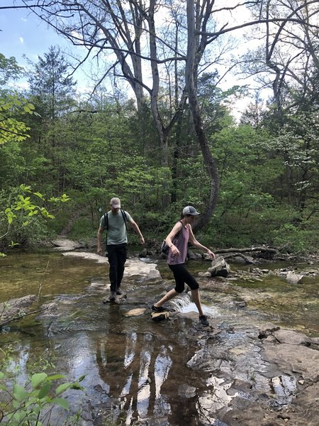 Multiple Water crossings on Trail