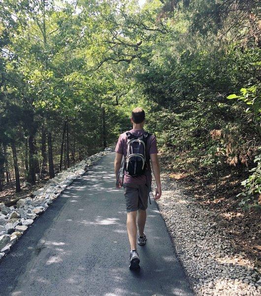 Table rock lake trail