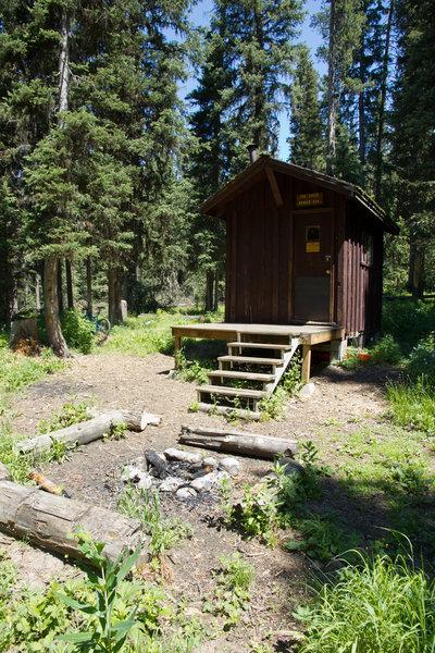 Fox Creek Ranger Station.