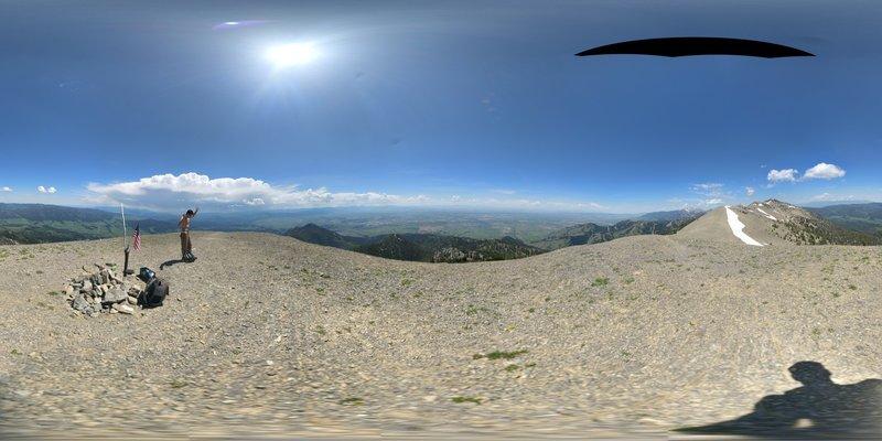 Baldy Mountain Pano
