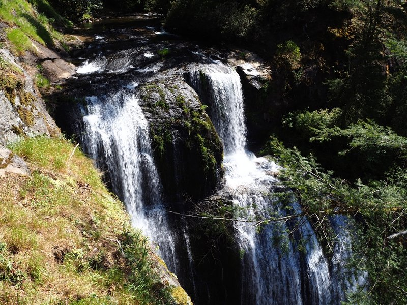 The top of Golden Falls