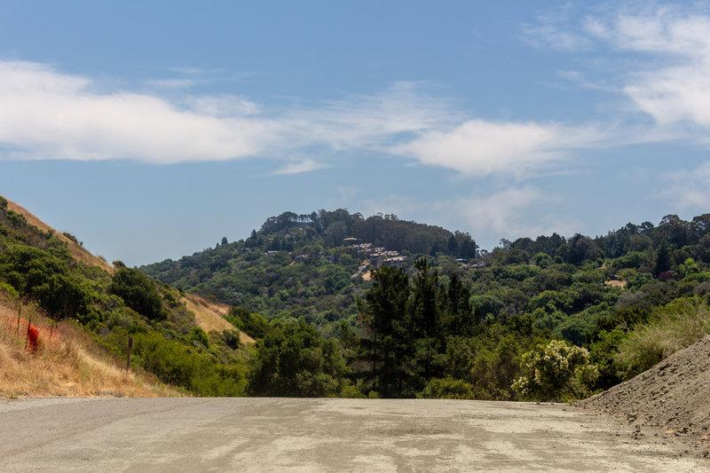 Vista Heights from Wildcat Creek Trail