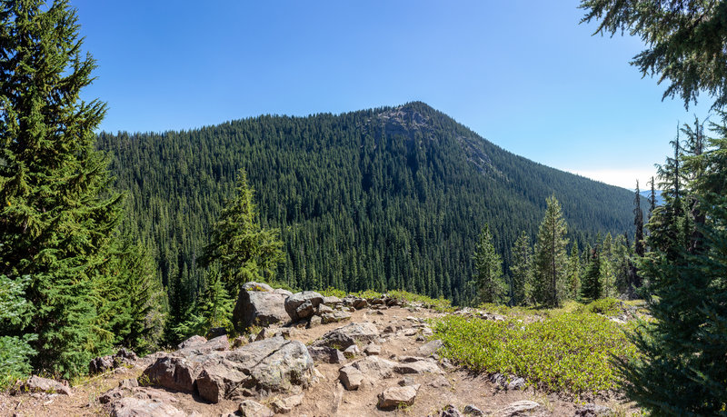On the descent to Soda Creek