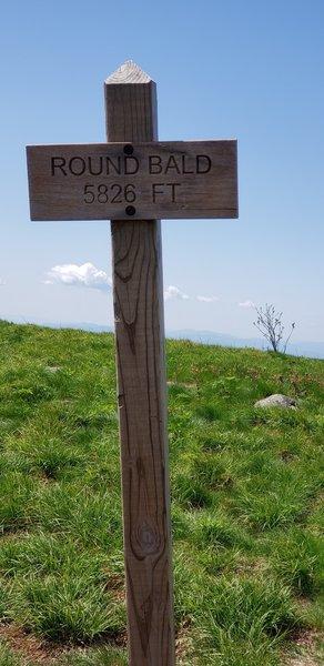 Round Bald 5826 Feet