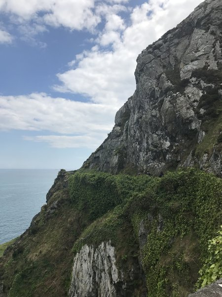 Ascent from Bray