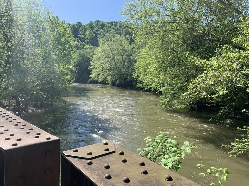 View of the Frankstown Branch of the Juniata River