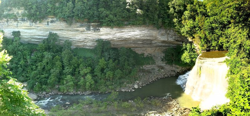 Big Falls and Cliff Face
