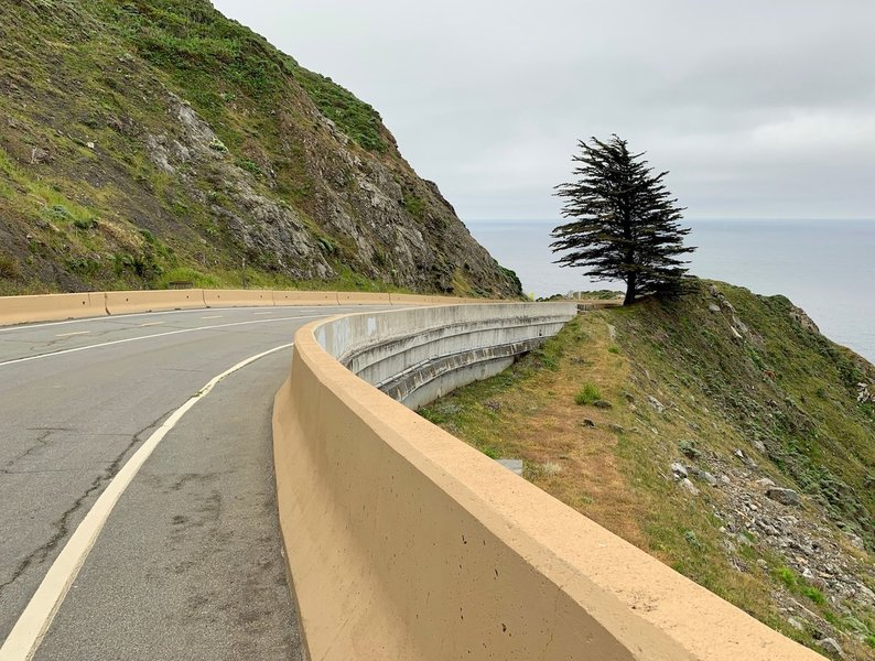 """Typical of the """"trail,"""" which is as well-paved, maintained, and generously wide as any two-lane highway … minus the cars."""
