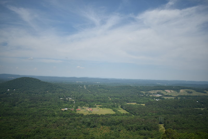 Beautiful views of Northwest Georgia all the way to Lookout Mountain