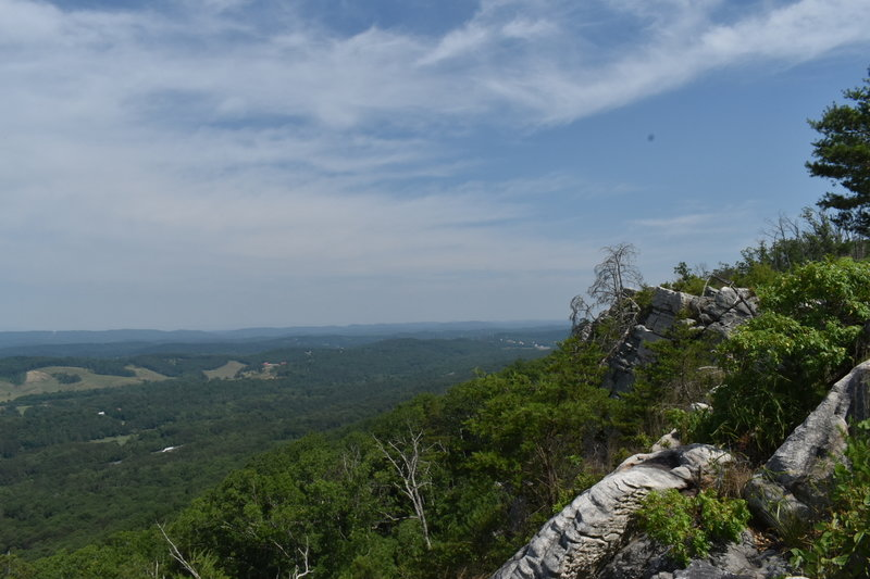 Beautiful views of Northwest Georgia all the way to Lookout Mountain.