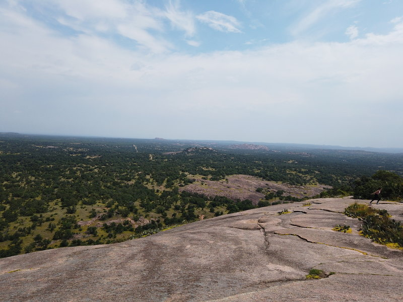 A view from the summit