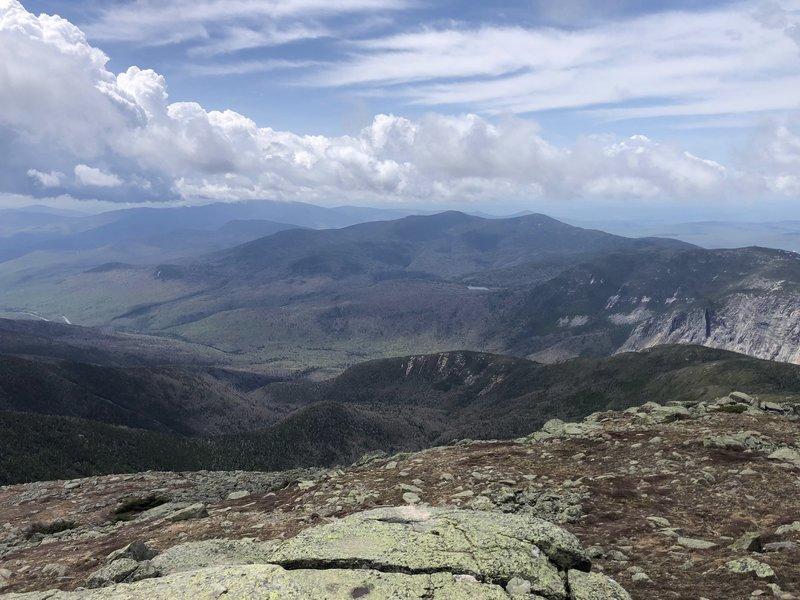 Top of Mount Lafayette.