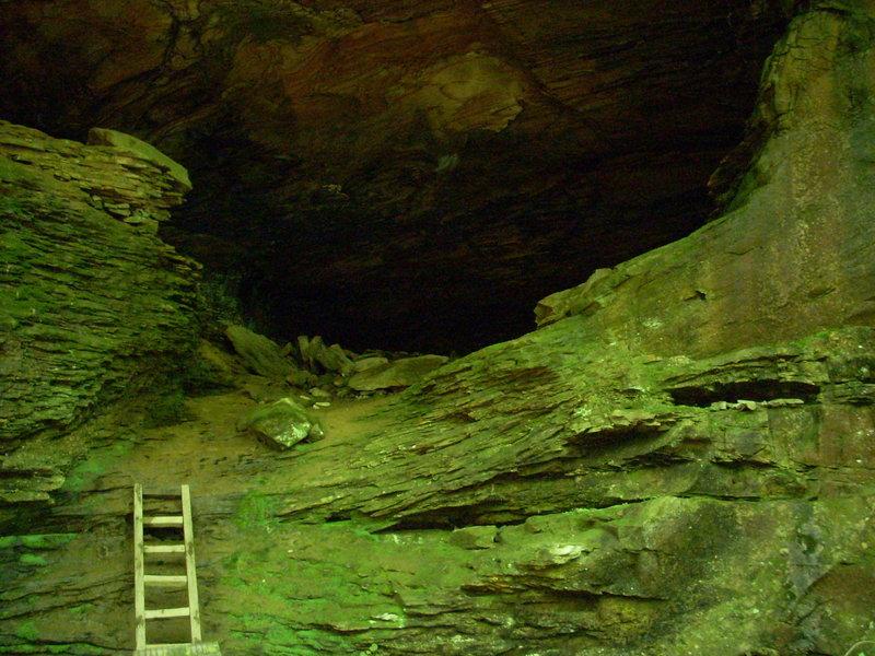 Cave at Honey Creek.