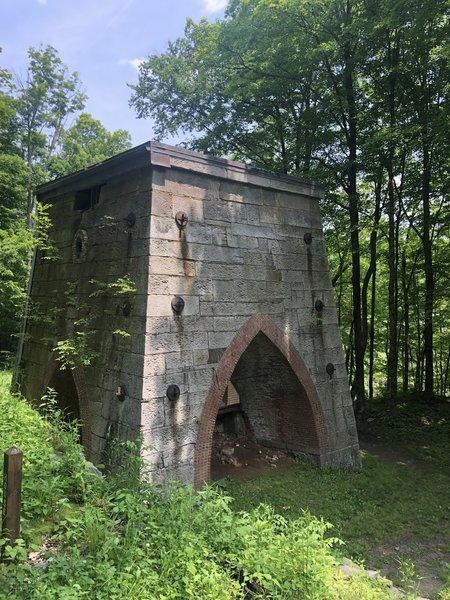 Bast furnace remains