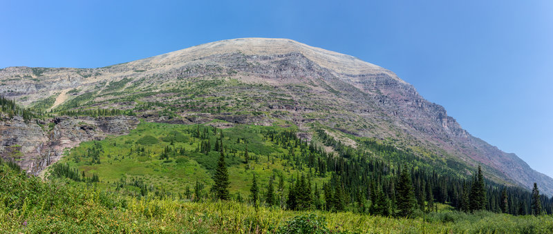 Mount James from Medicine Grizzly Lake.