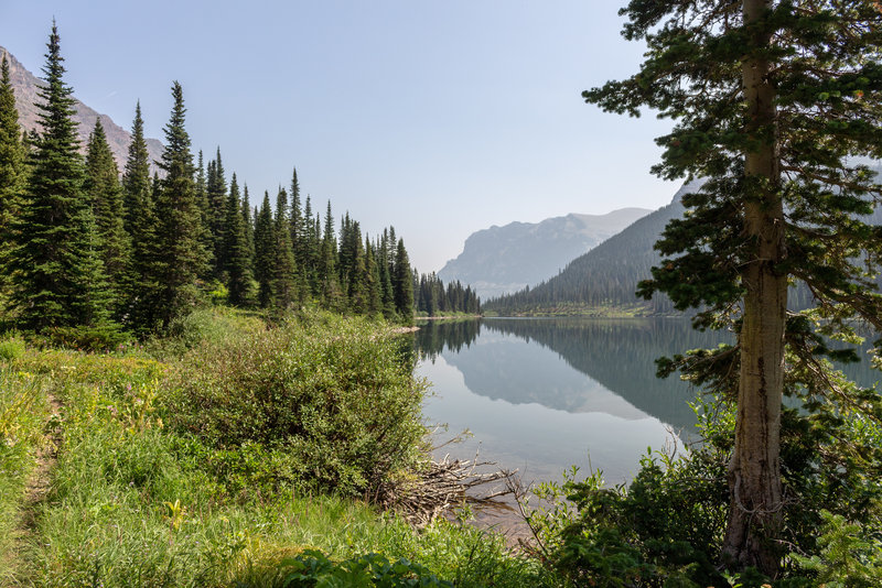 Medicine Grizzly Lake
