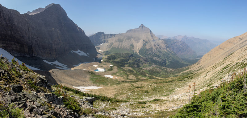 Split Mountain from Triple Divide Pass.