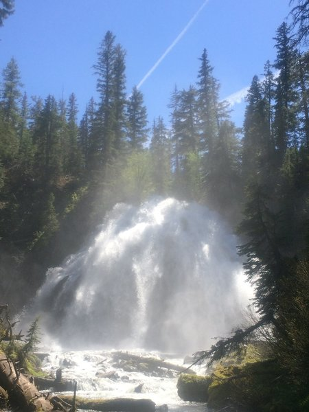 The Falls at Midday