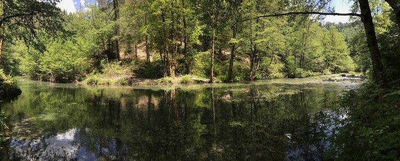 Virgin Creek above New River