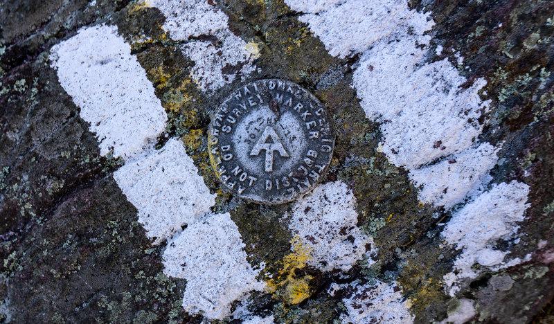NY/NJ border, Appalachian Trail