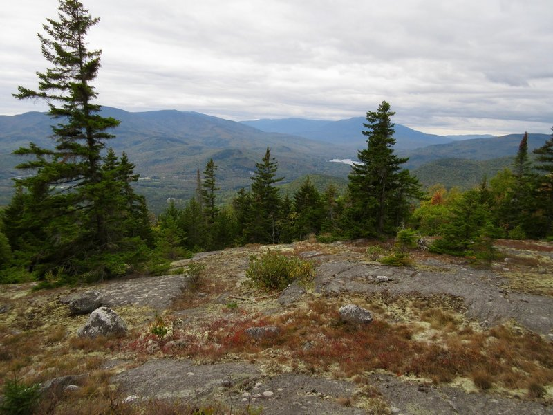 Quintessential White Mountains running on the shoulder of Mt. Ingalls.