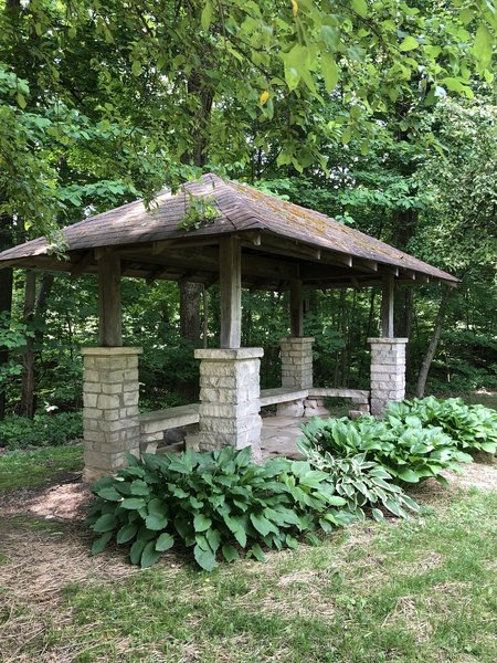 Shelter built in the 1920s.