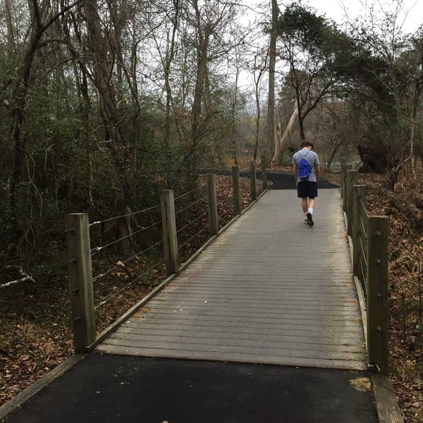Bridge at Waterford Golf Course Trail - River Park