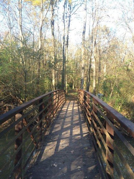 Boardwalk at Wetland Trail - River Park