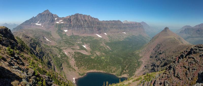Cobalt Lake from Chief Lodgepole Peak.