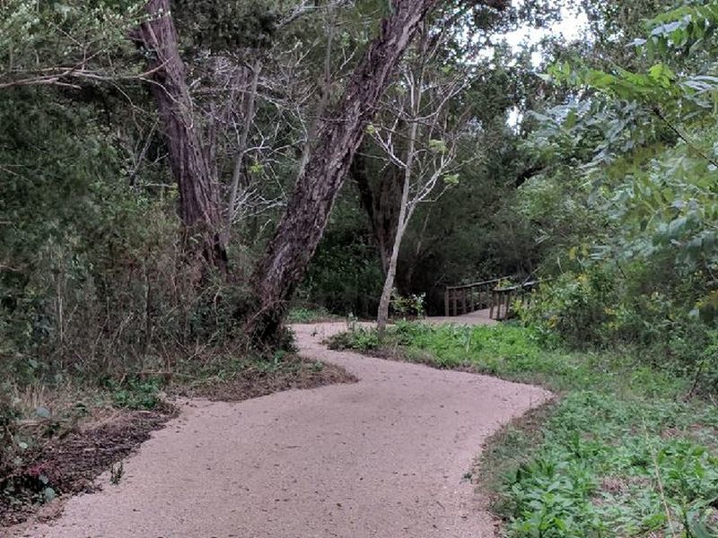 First Broad River Trail.