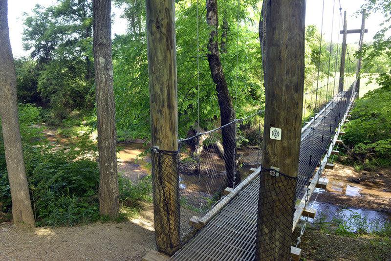 Bridge at Buffalo Creek Preserve Trail