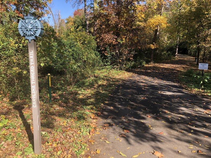 Little Sugar Creek Greenway near Freedom Park