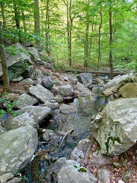 Awesome boulders and creek