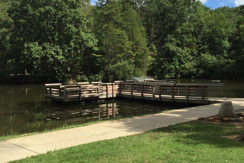 Squirrel Lake Park at Four Mile Creek Greenway