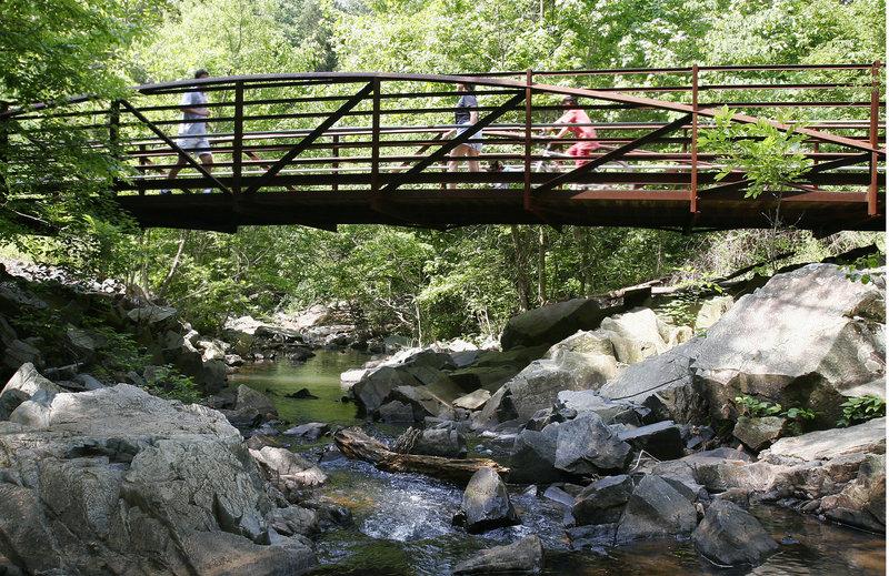 Bridge at Clarks Creek Greenway