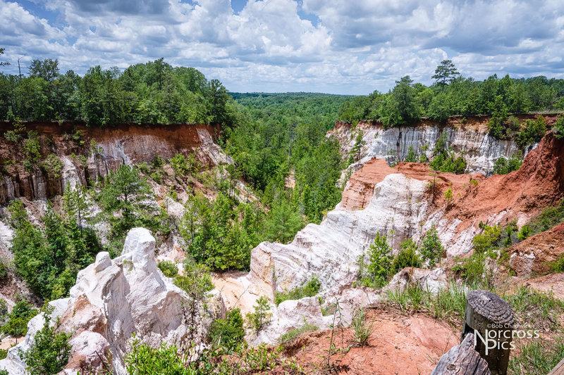 Canyon overlook.