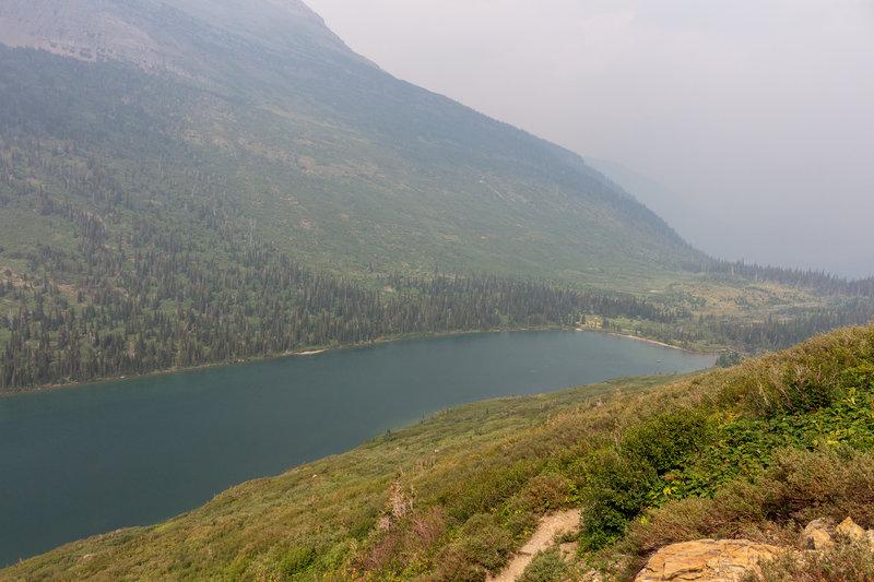 Gunsight Lake and Campground