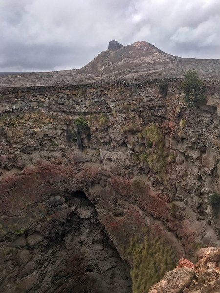 Pit Crater, Mauna Iki Trail