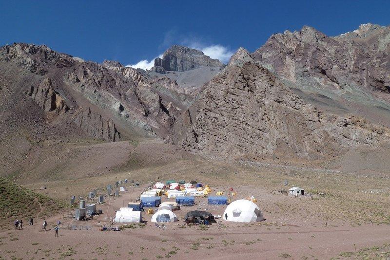 Confluencia camping area