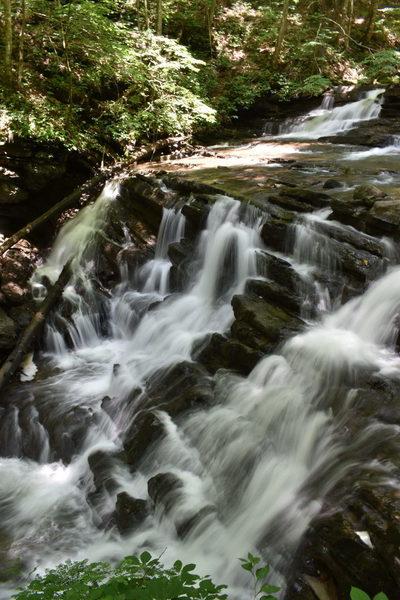 """Cascades of """"Upper"""" Abrams Falls"""