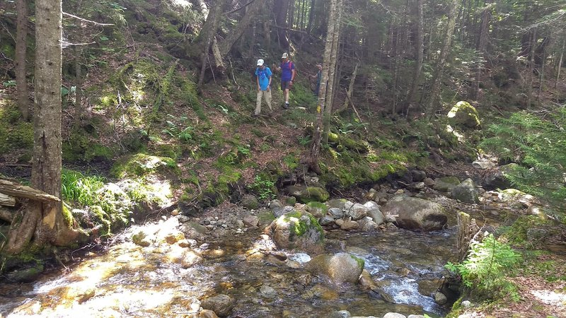 River Crossing on Boundary Line Trail