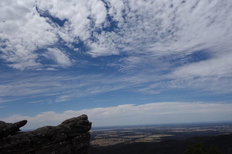 Interesting sky at Pinnacle Lookout