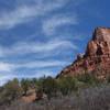 Kolob Canyon sky