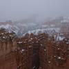 Late May snow at Bryce Canyon.