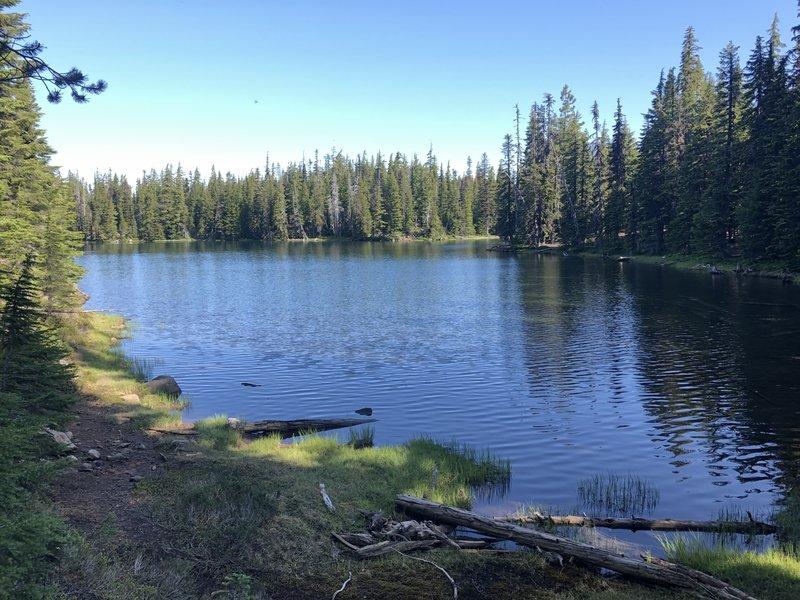 South side of lake.