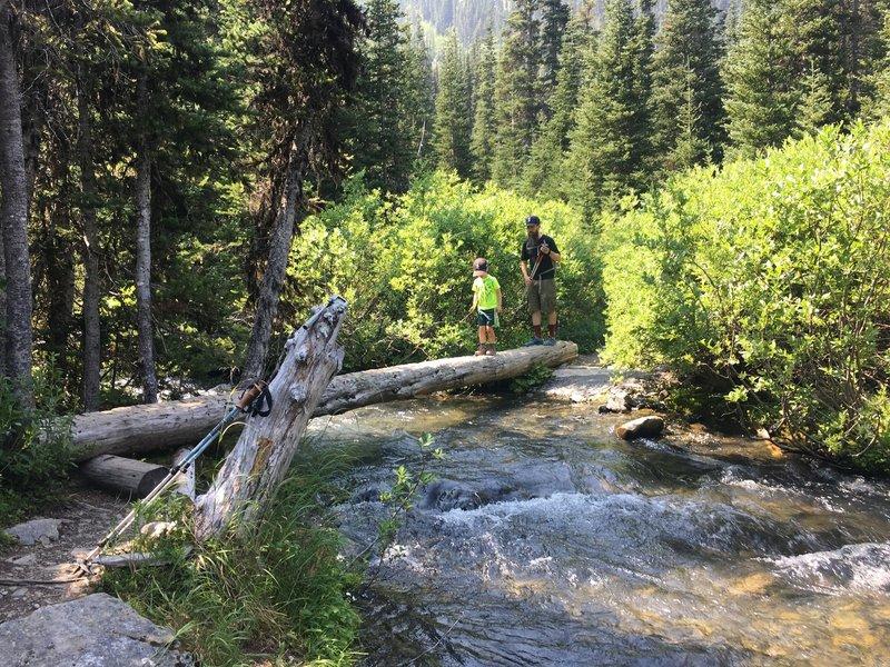 Crossing Royal Creek